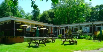 The Club house at Fiveacres Naturist Club